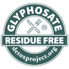 Certified Glyphosate Residue Free