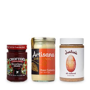 Nut Butters & Fruit Spreads