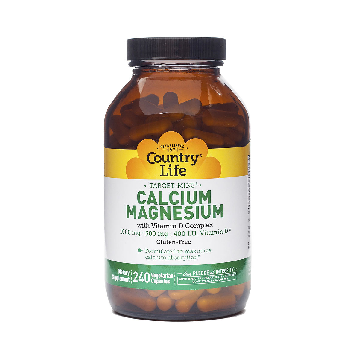 calcium magnesium with vitamin d by country life thrive market. Black Bedroom Furniture Sets. Home Design Ideas