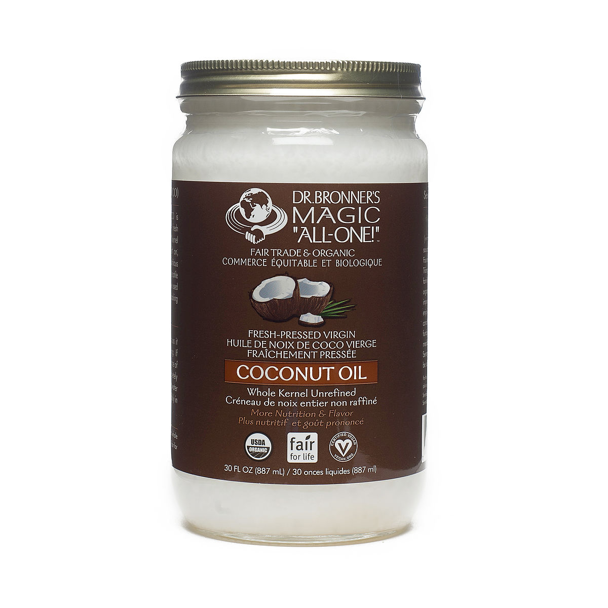 Dr. Bronner's Organic Fair Trade Virgin Coconut Oil