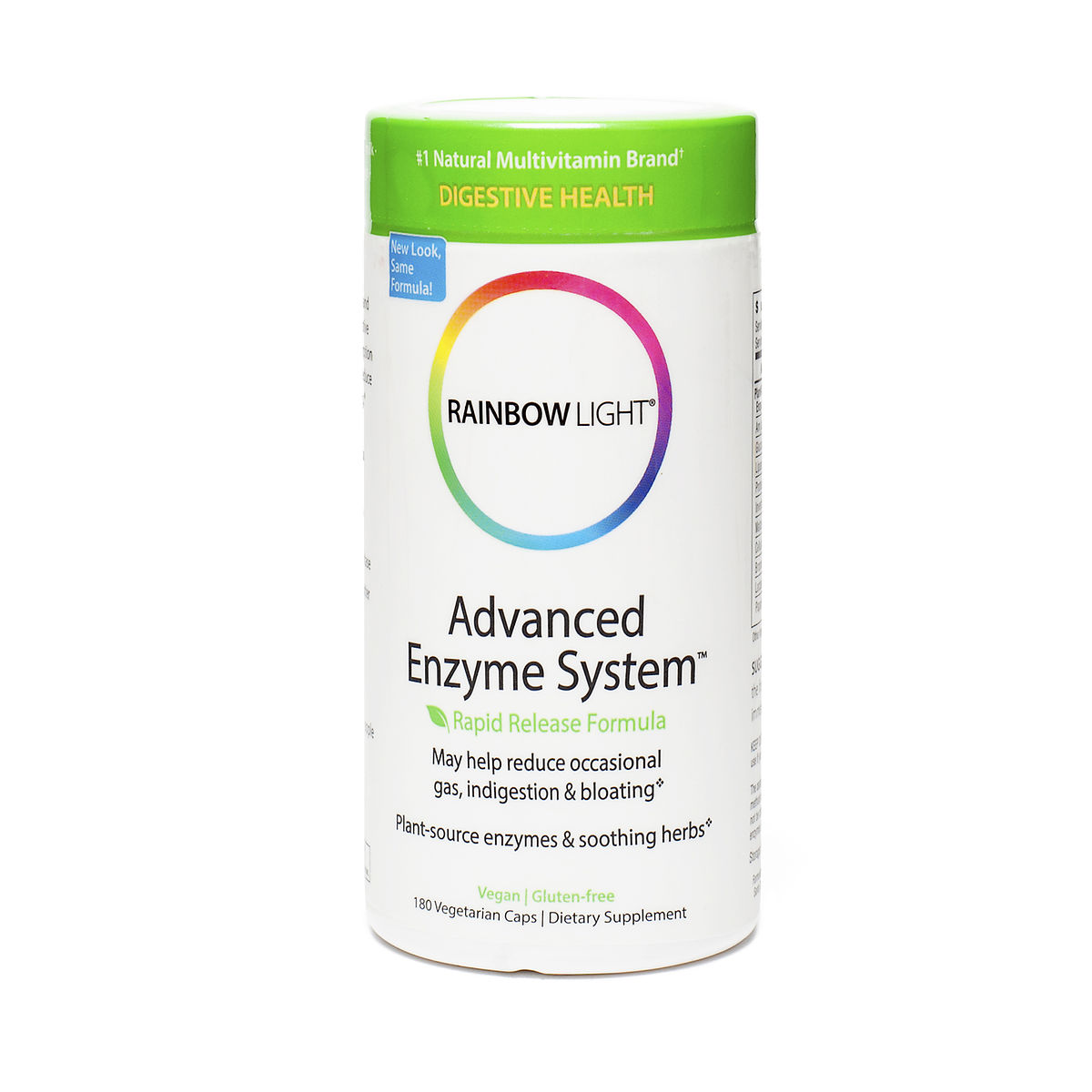 rainbow light advanced enzyme system dietary findamentals thrive. Black Bedroom Furniture Sets. Home Design Ideas