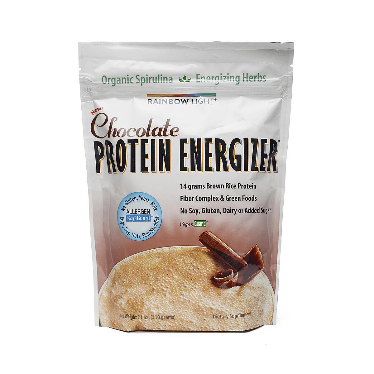 rainbow light protein energizer powder chocolate thrive market. Black Bedroom Furniture Sets. Home Design Ideas