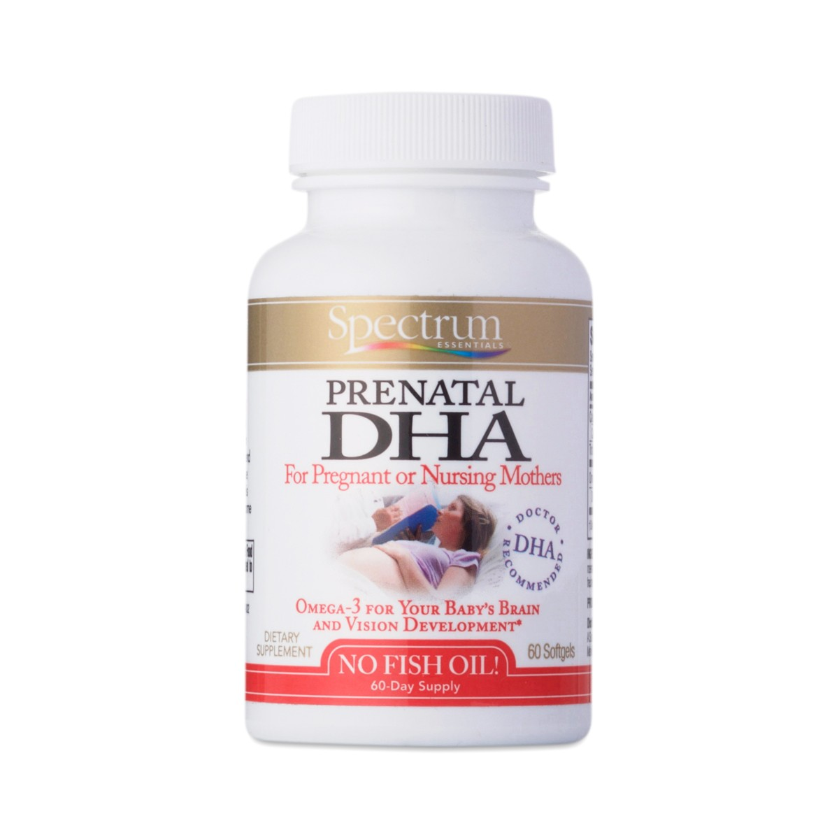 Spectrum Essentials Prenatal Dha 580mg Thrive Market