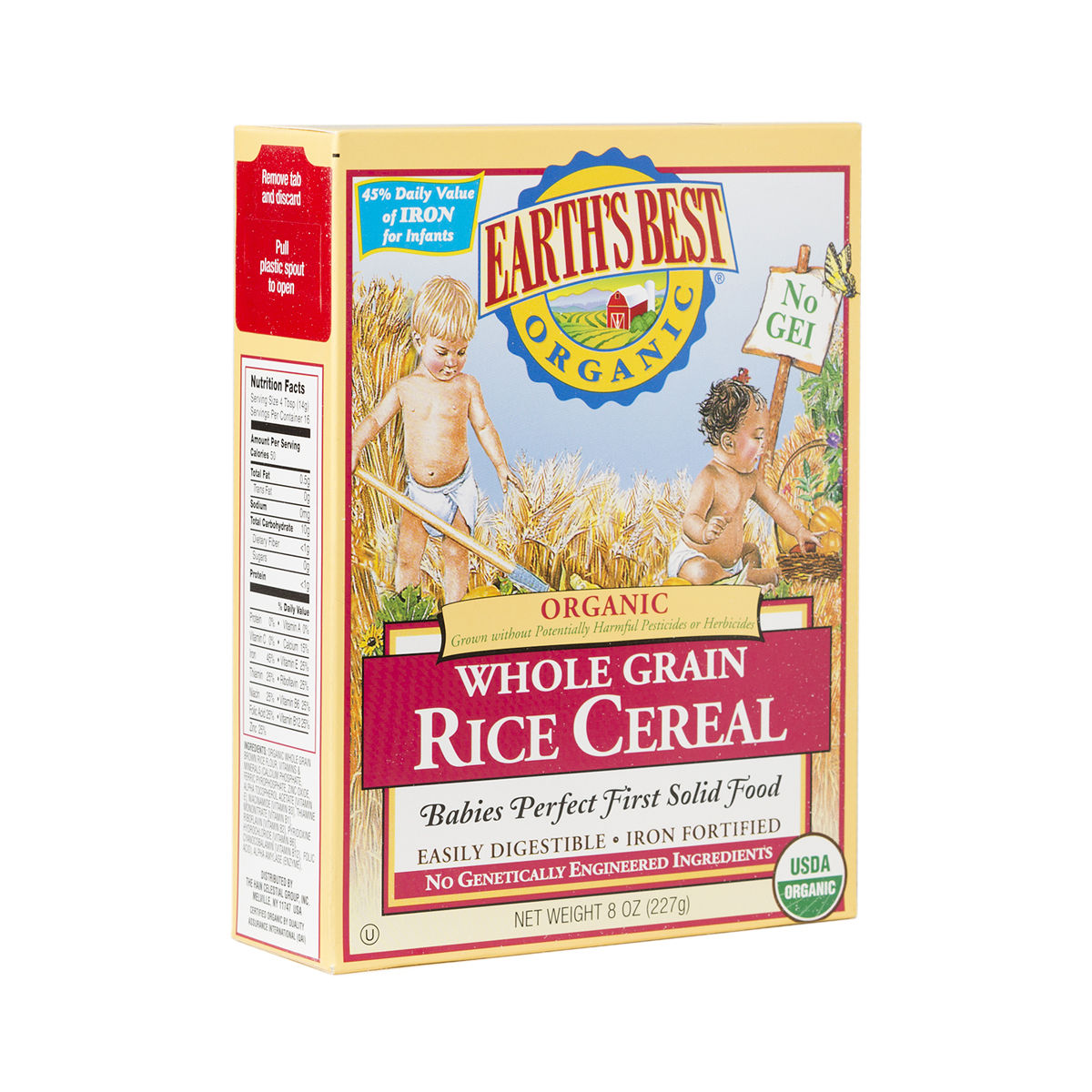 8 Oz Whole Grain Rice Cereal By Earth's Best