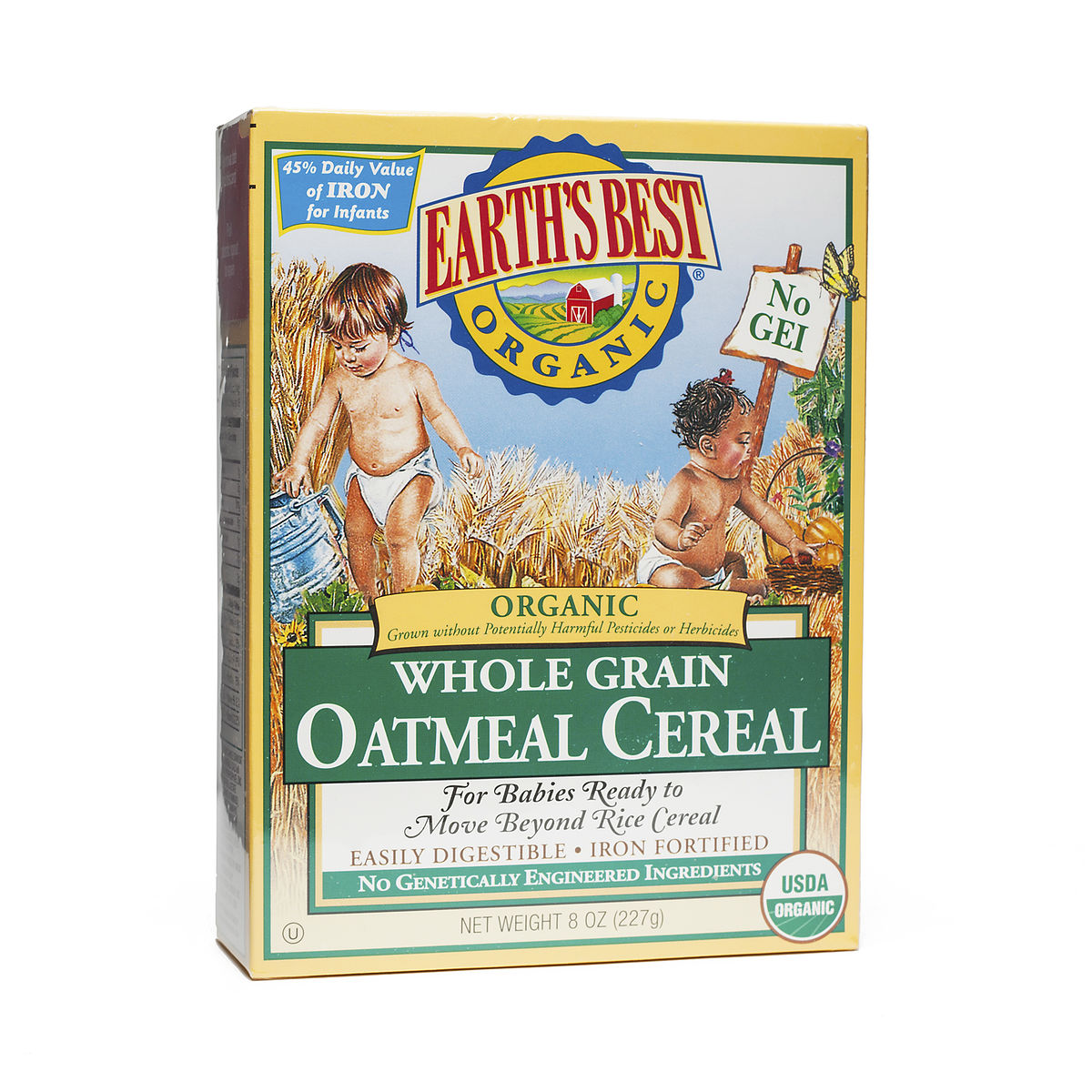 5.3 Oz Oatmeal Hot Cereal, Organic By Earth's Best