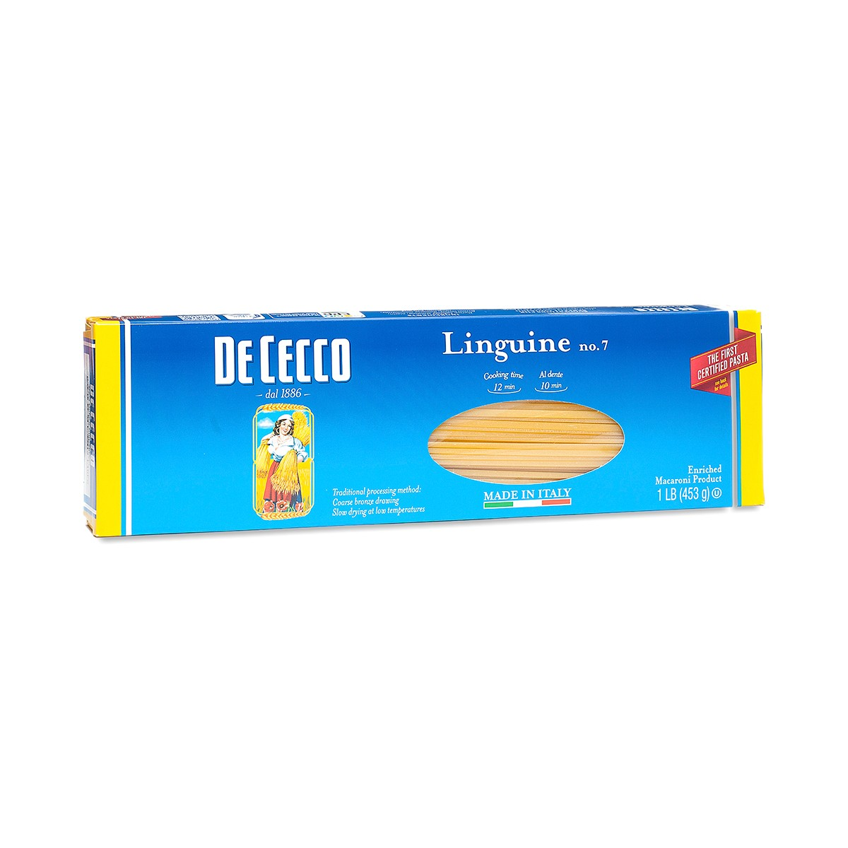 16 oz Linguine Pasta by De Cecco Pasta - Thrive Market