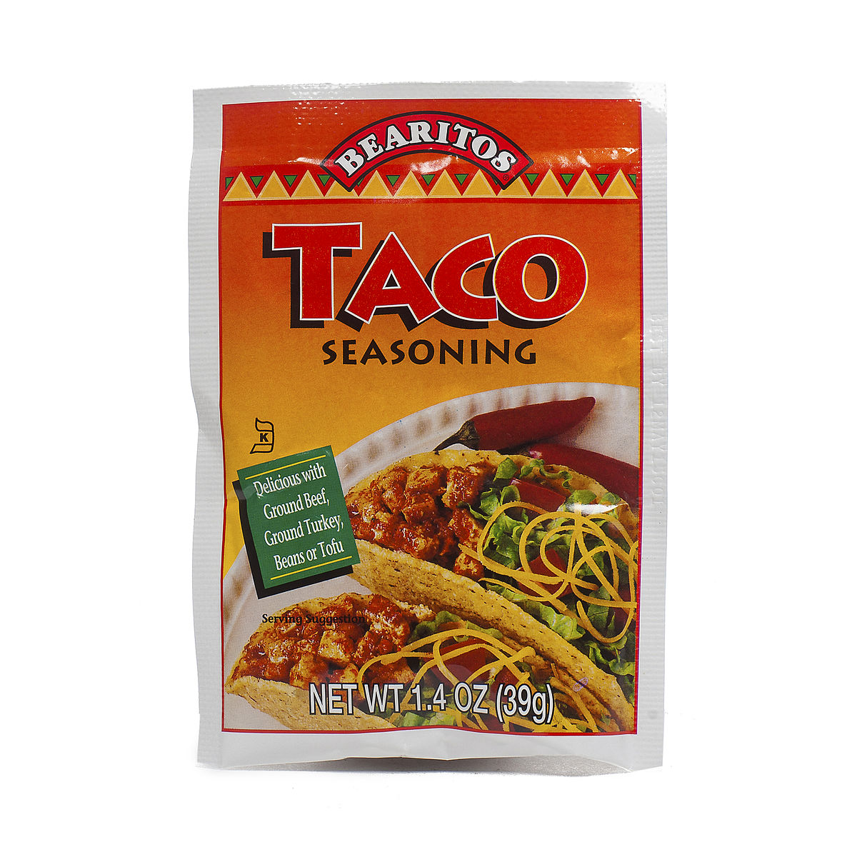 bearitos taco seasoning 1 4 oz package 2 leave a review retail $ 2 15 ...