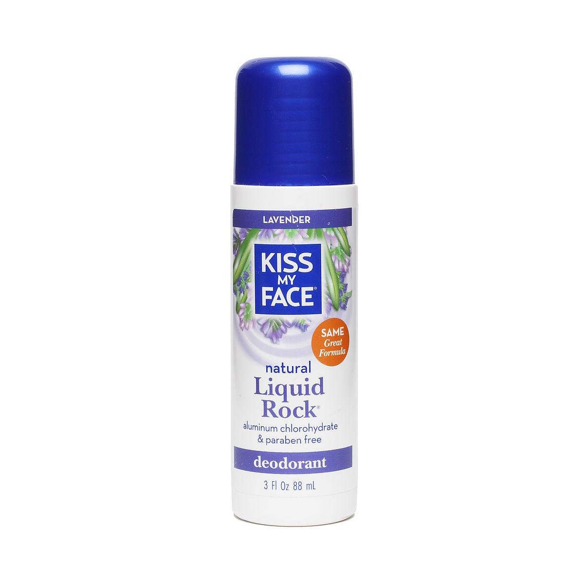 Liquid rock deodorant