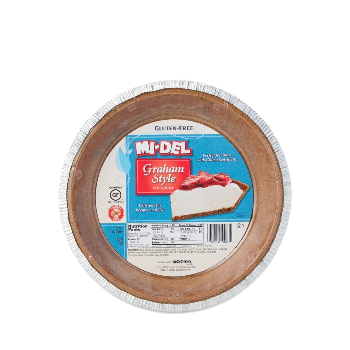 Midel Gluten Free Pie Crust, Graham Style - Thrive Market