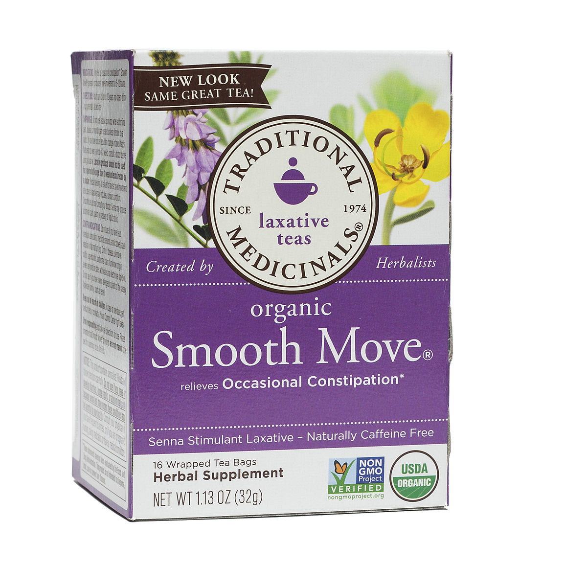 Traditional Medicinals Smooth Move 174 Herbal Tea Thrive Market