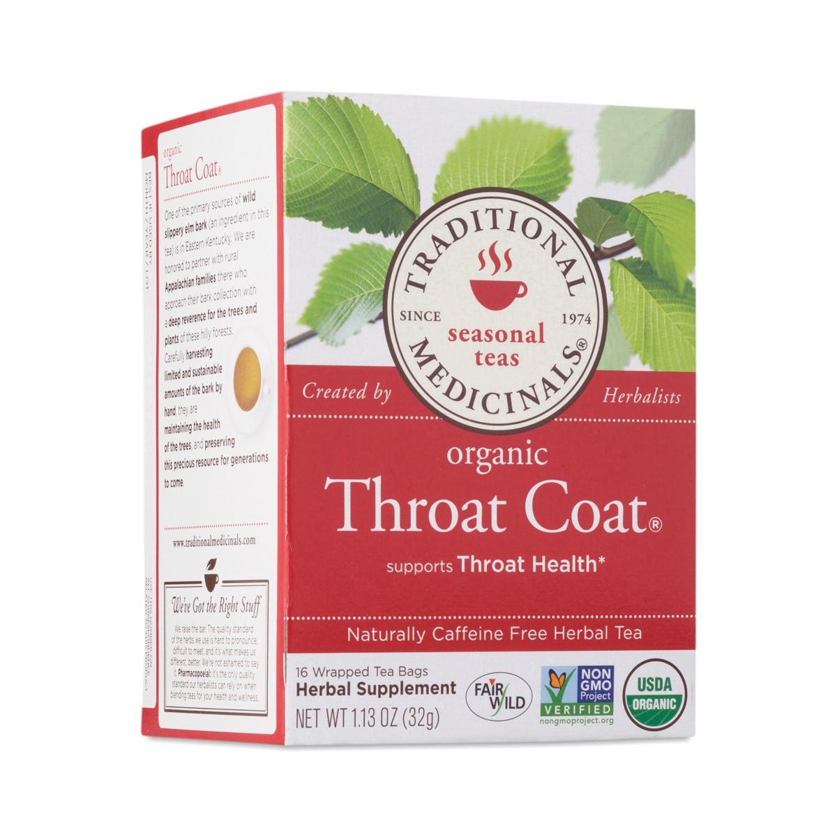 Throat coat herbal tea