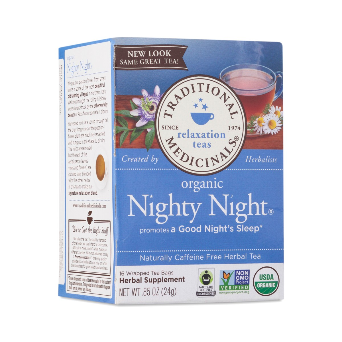 Traditional Medicinals Nighty Night Herbal Tea Thrive Market