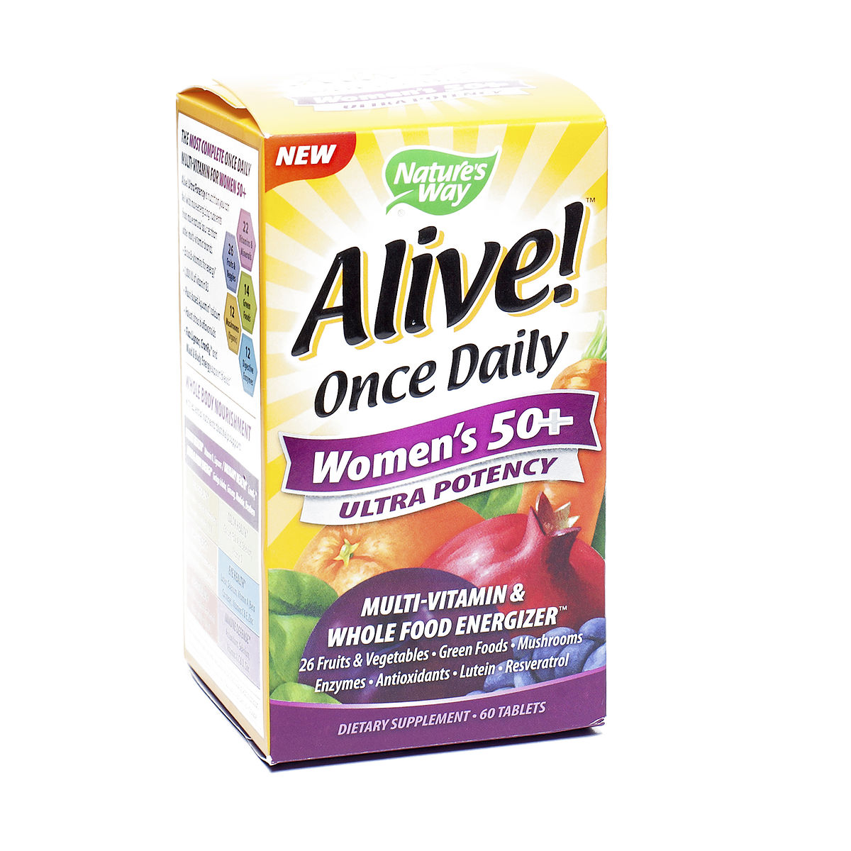 Nature S Way Alive Once Daily Women S Multivitamin Ultra Potency Review