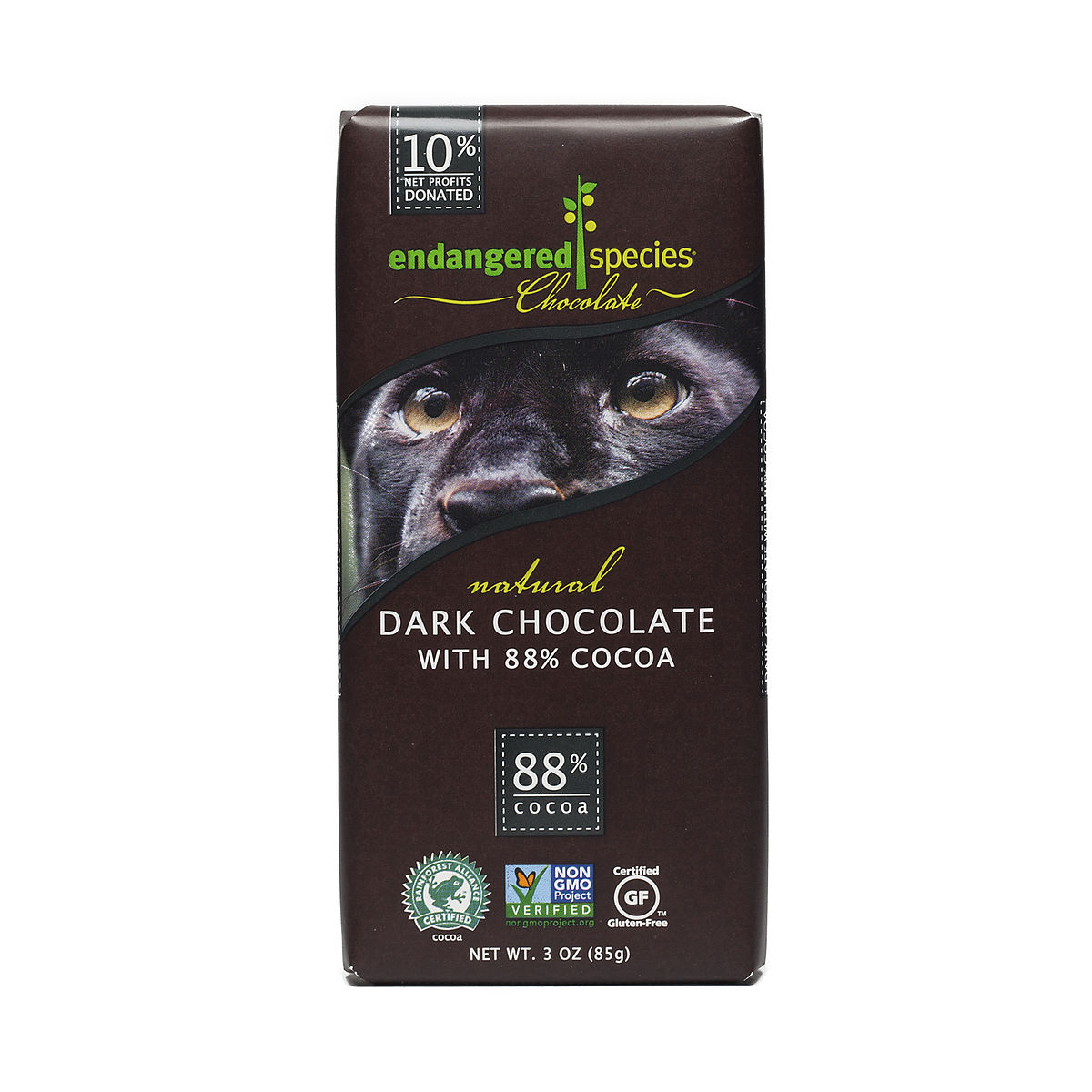 3 oz 88% Cocoa Dark Chocolate, Fair Trade - Thrive Market
