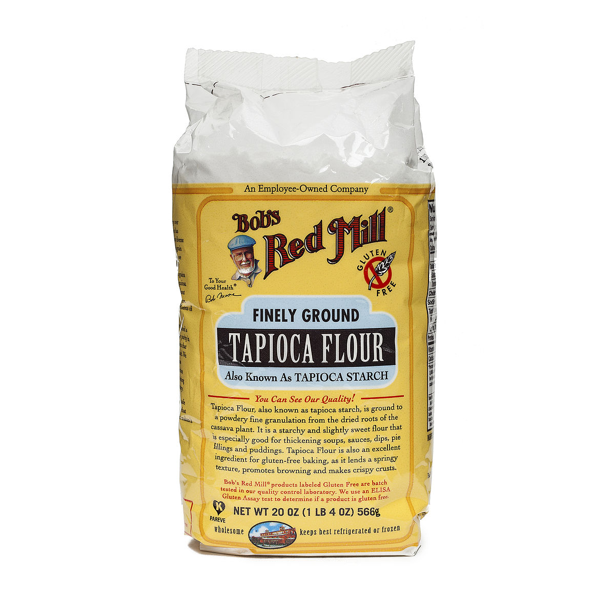 Tapicoa flour