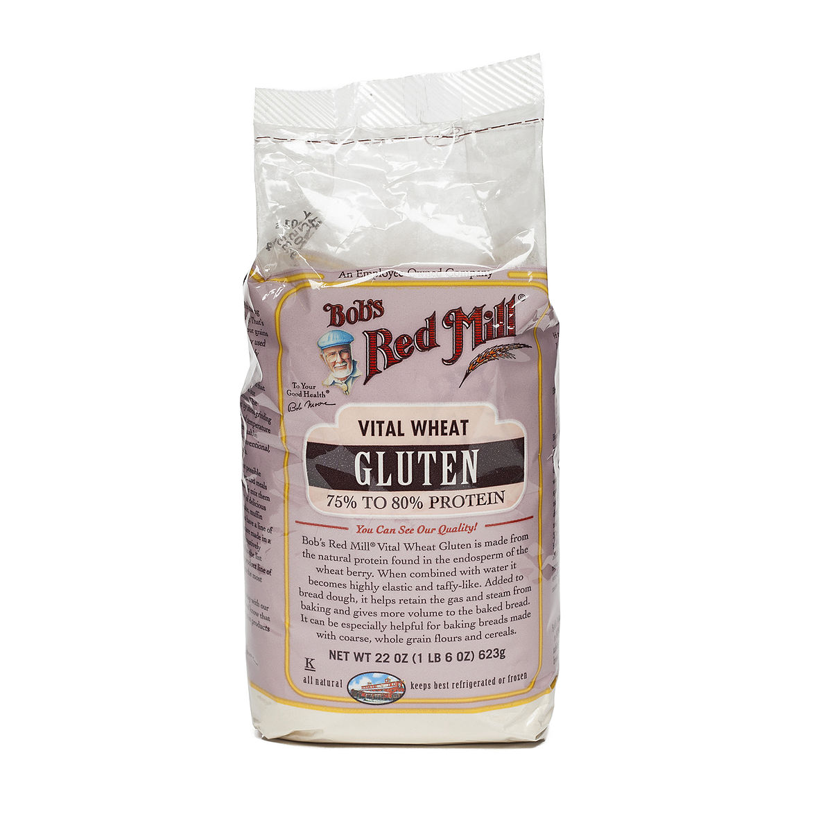 22 Oz Vital Wheat Gluten By Bob S Red Mill Thrive Market