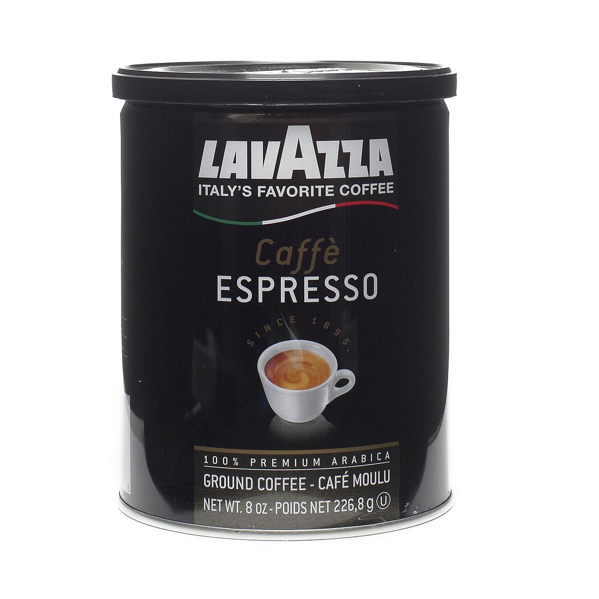 8 oz Caffè Espresso Ground Coffee by Lavazza - Thrive Market