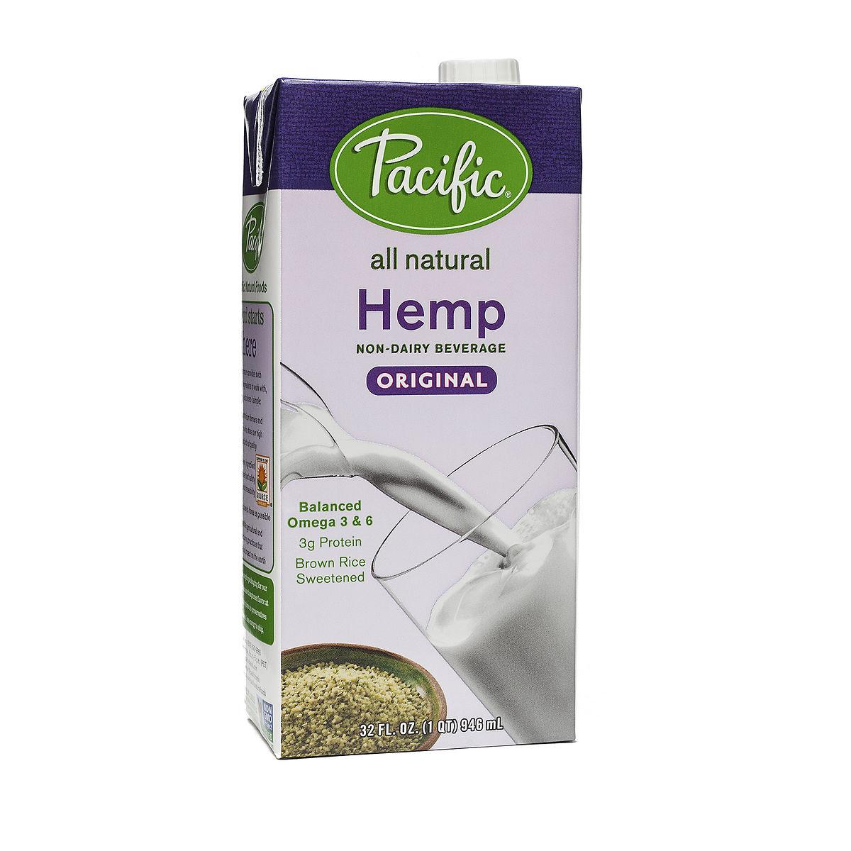 Pacific Foods Hemp Milk Review