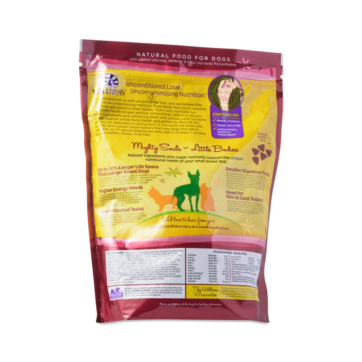 Wellness Small Breed Dog Food Review