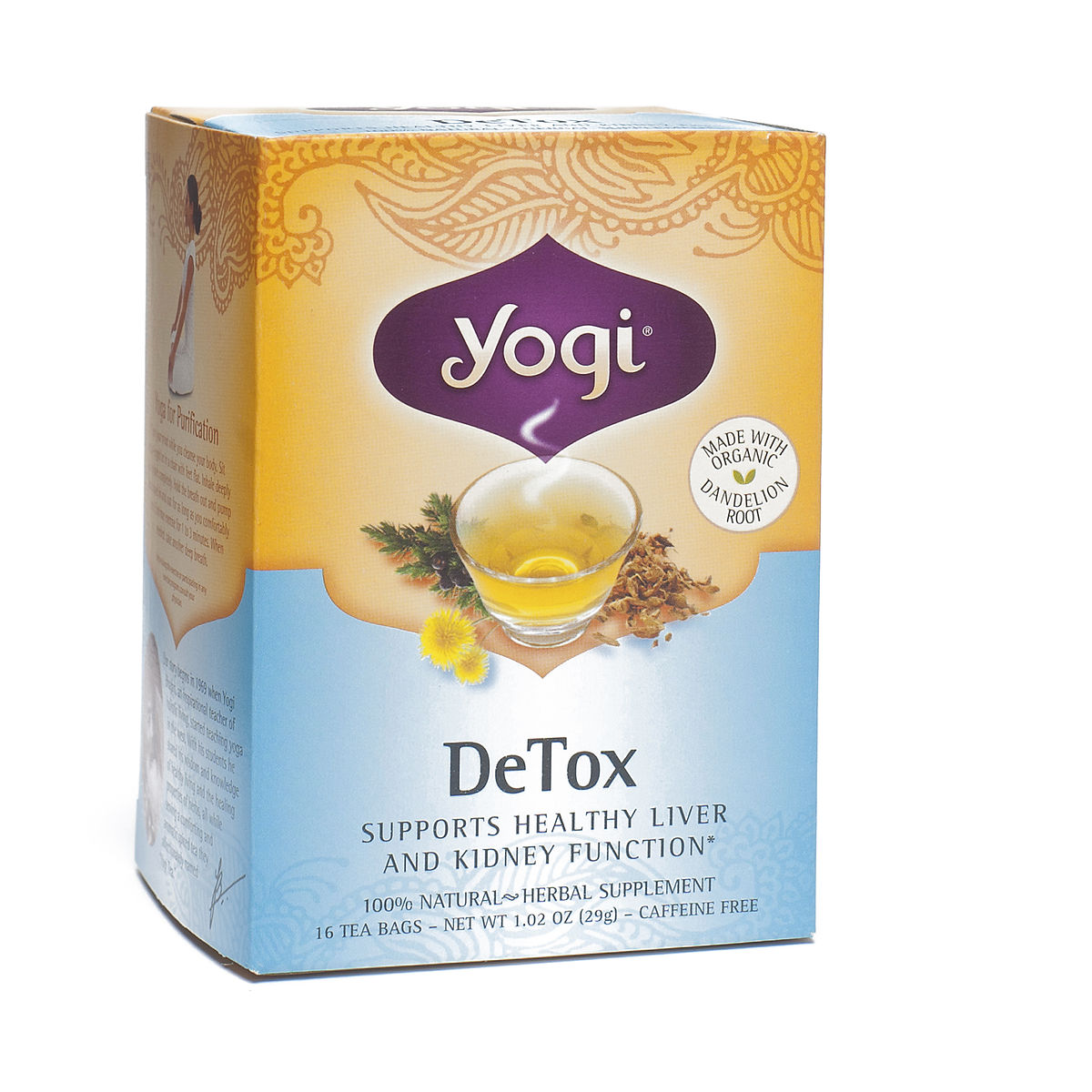 Yogi Tea Detox Tea Thrive Market