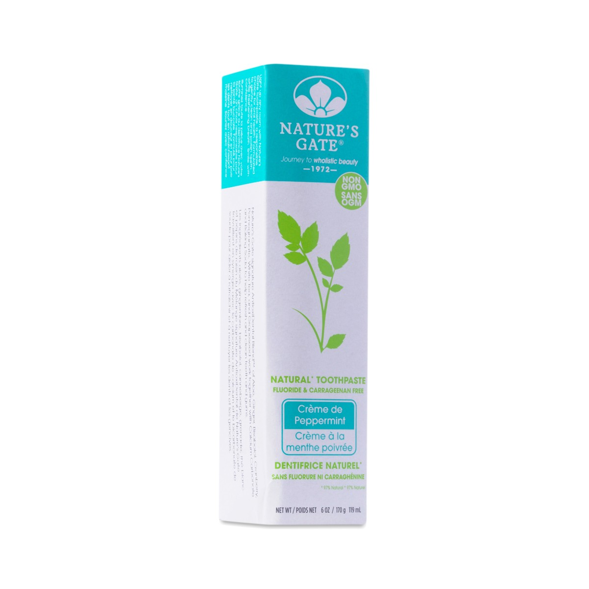 Nature S Gate Creme De Peppermint Natural Toothpaste