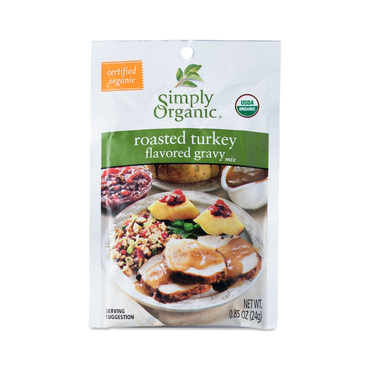 oz Roasted Turkey Gravy by Simply Organic - Thrive Market