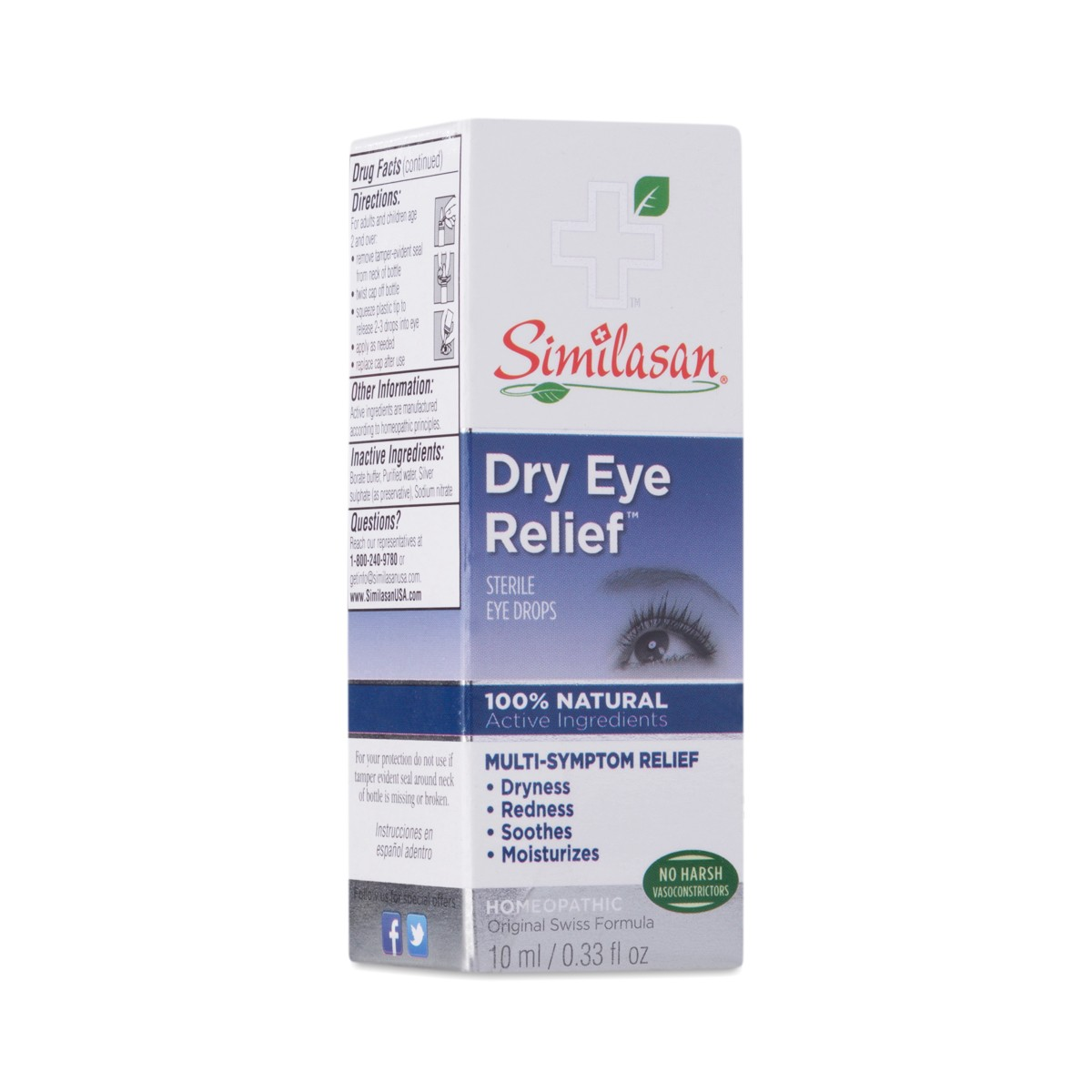 Similasan Corp Eye Drops Dry Eye Relief Thrive Market