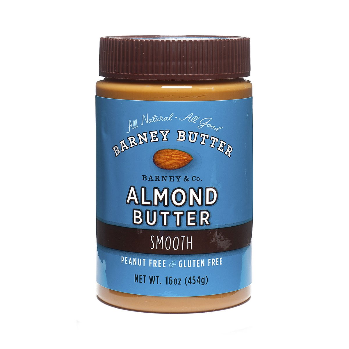 16 oz Smooth Almond Butter by Barney Butter - Thrive Market Almond Butter