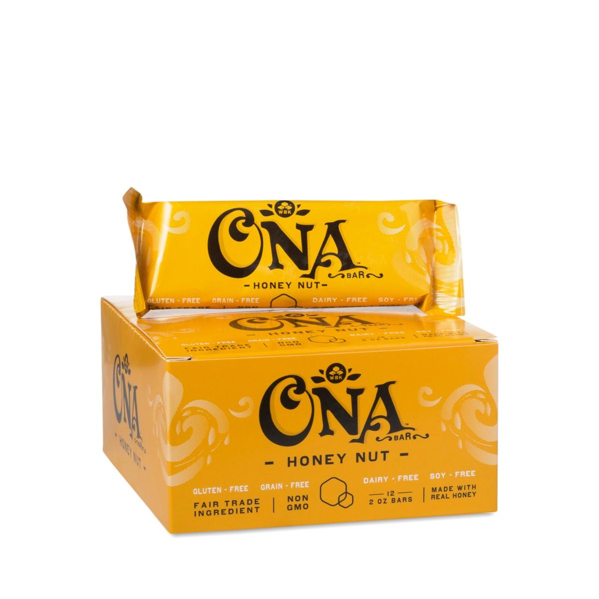 12 pack Honey Nut Bar by WB Kitchen - Thrive Market