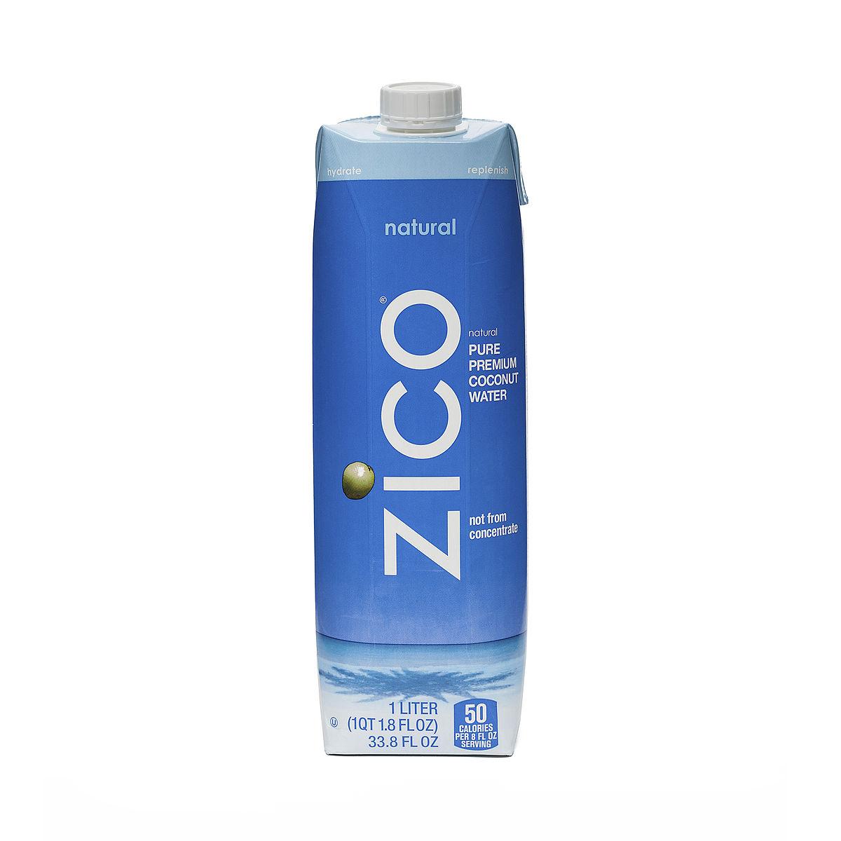 Zico Natural Coconut Water Ingredients