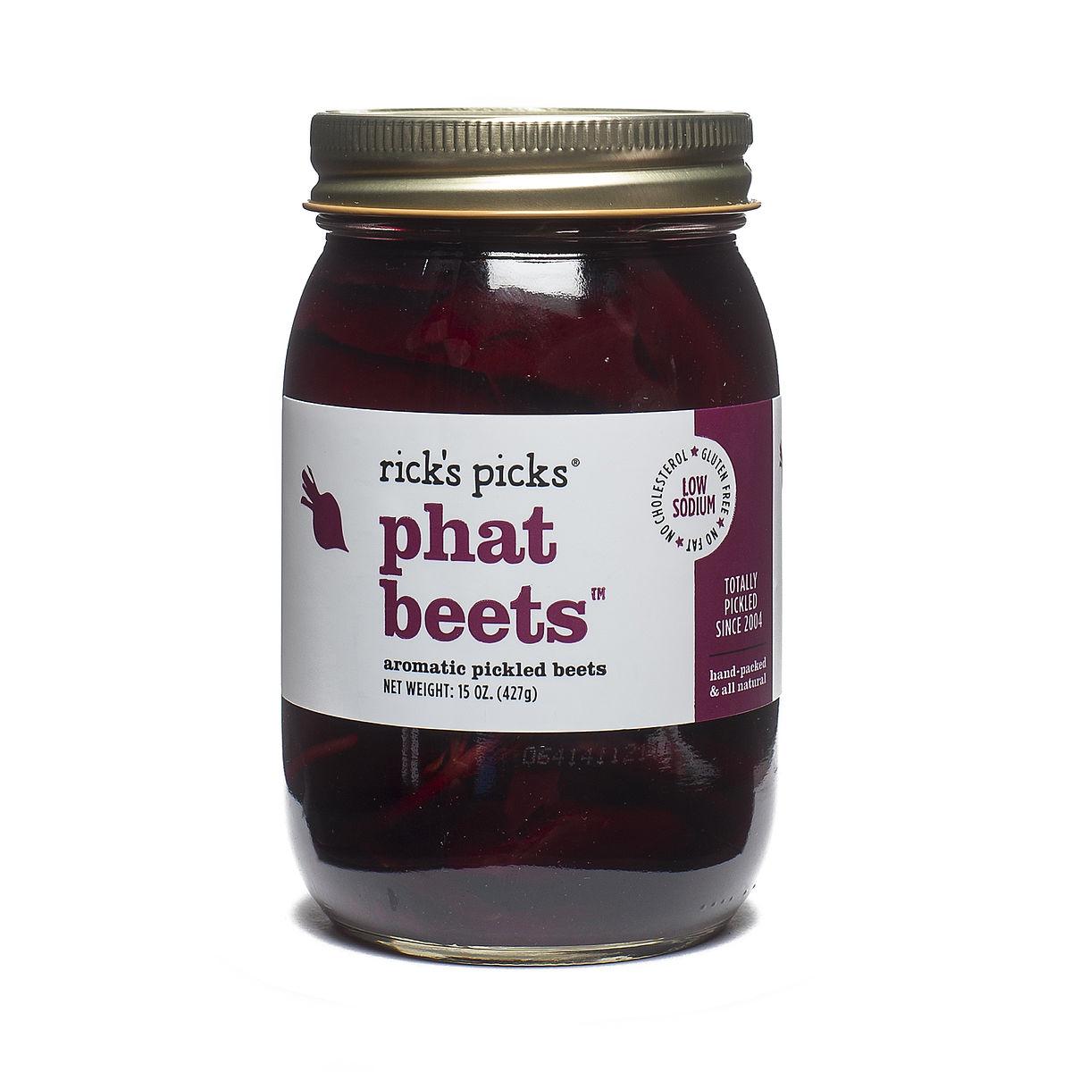 Ricks Picks Phat Beets Aromatic Pickled Beets - Thrive Market