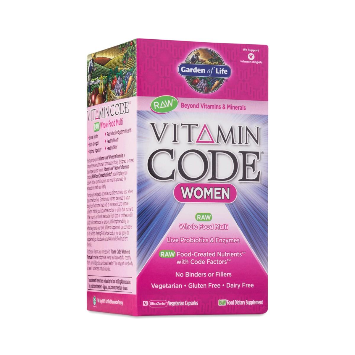 Garden Of Life Vitamin Code Women 39 S Multivitamin Thrive