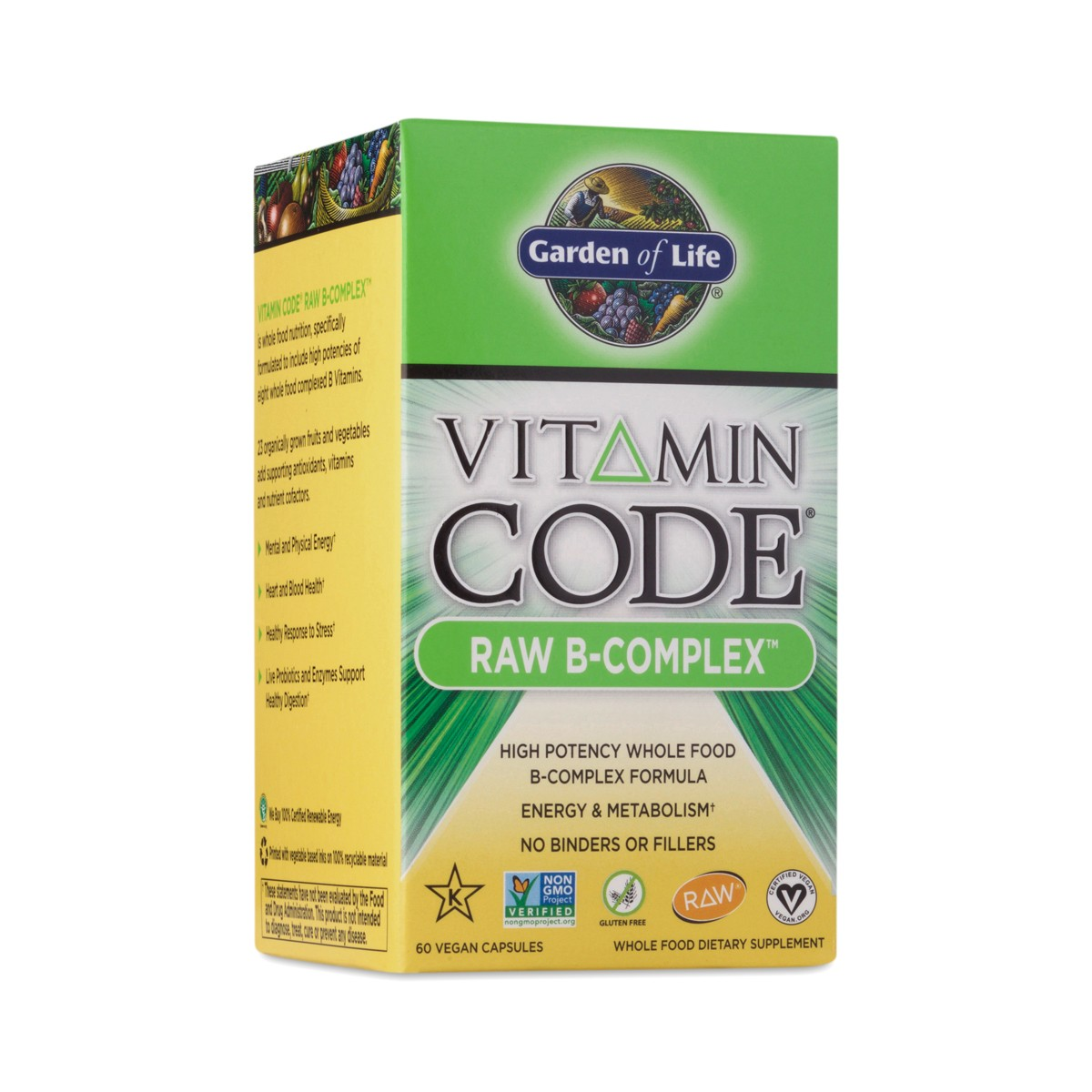 Garden of life vitamin code raw b complex supplement - Garden of life multivitamin review ...