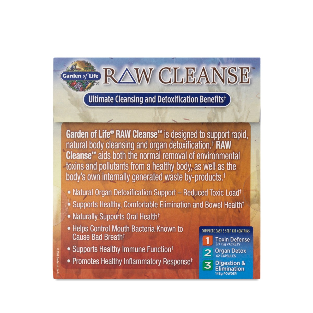 Raw cleanse system by garden of life thrive market for Garden of life raw cleanse reviews