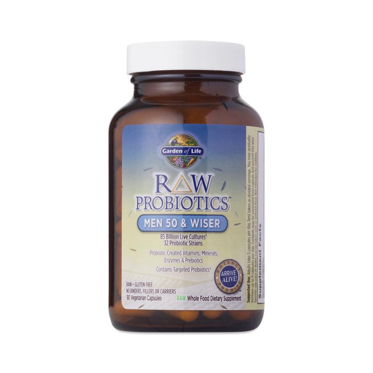 Garden of life raw probiotics men thrive market for Garden of life probiotics review