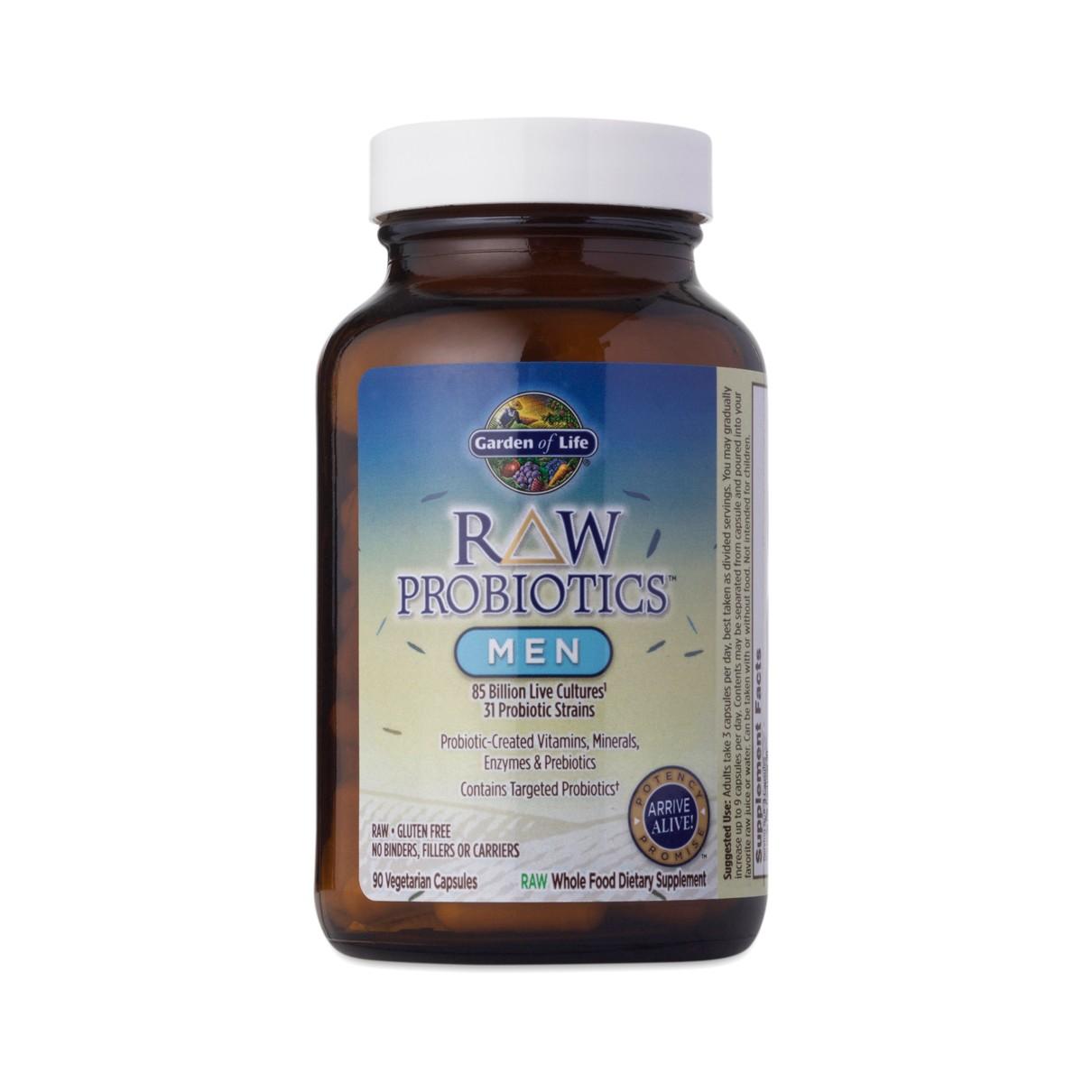 Garden Of Life Raw Probiotics Men 50 Wiser Thrive Market