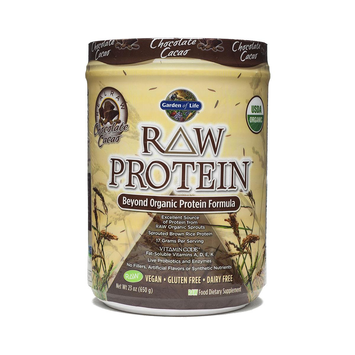 Garden Of Life Raw Protein Chocolate Thrive Market