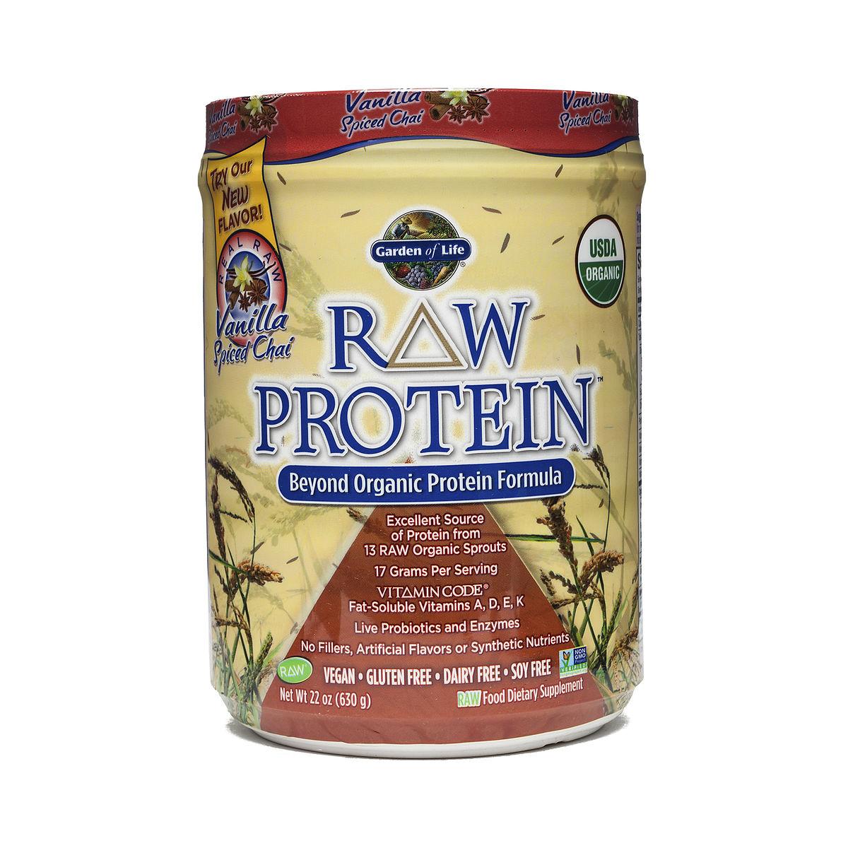 Garden Of Life Raw Protein Vanilla Chai Thrive Market