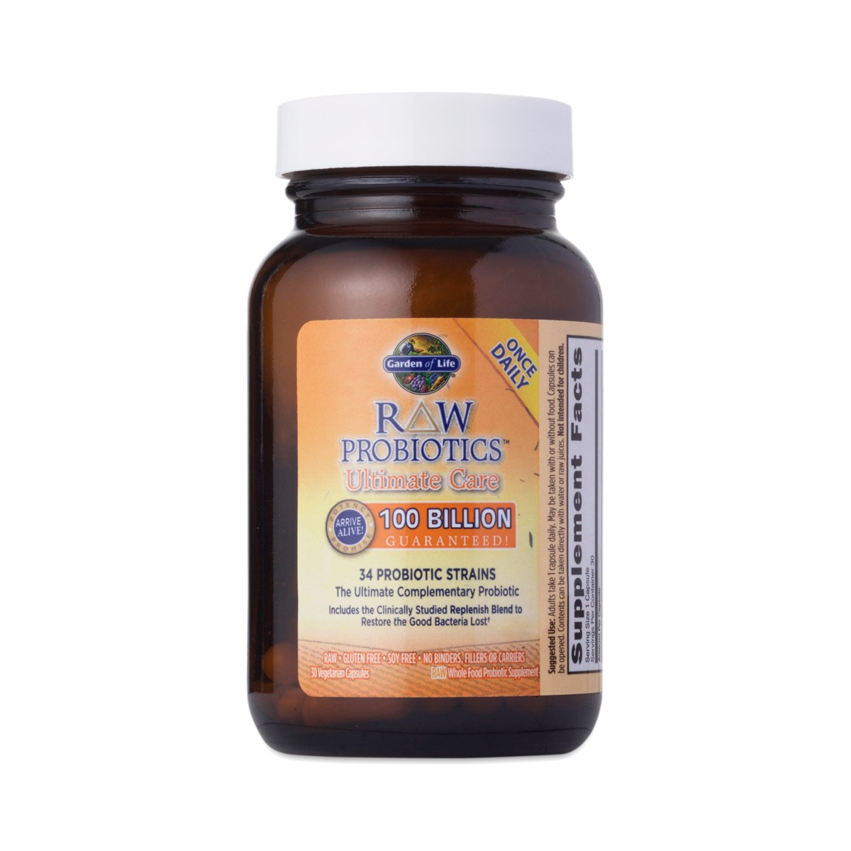 Garden Of Life Raw Probiotics Ultimate Care Thrive Market