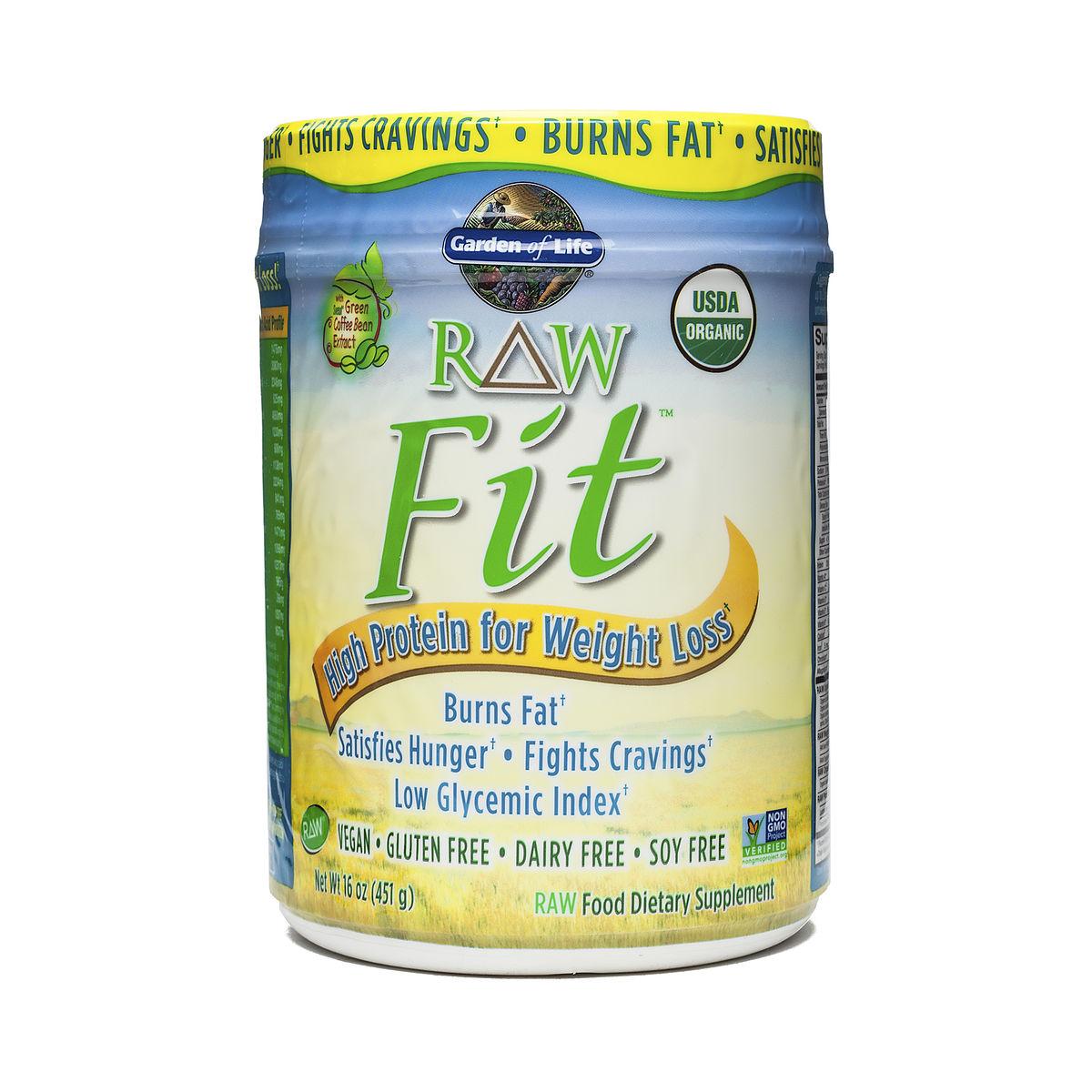 Garden Of Life Raw Fit Protein Powder Thrive Market