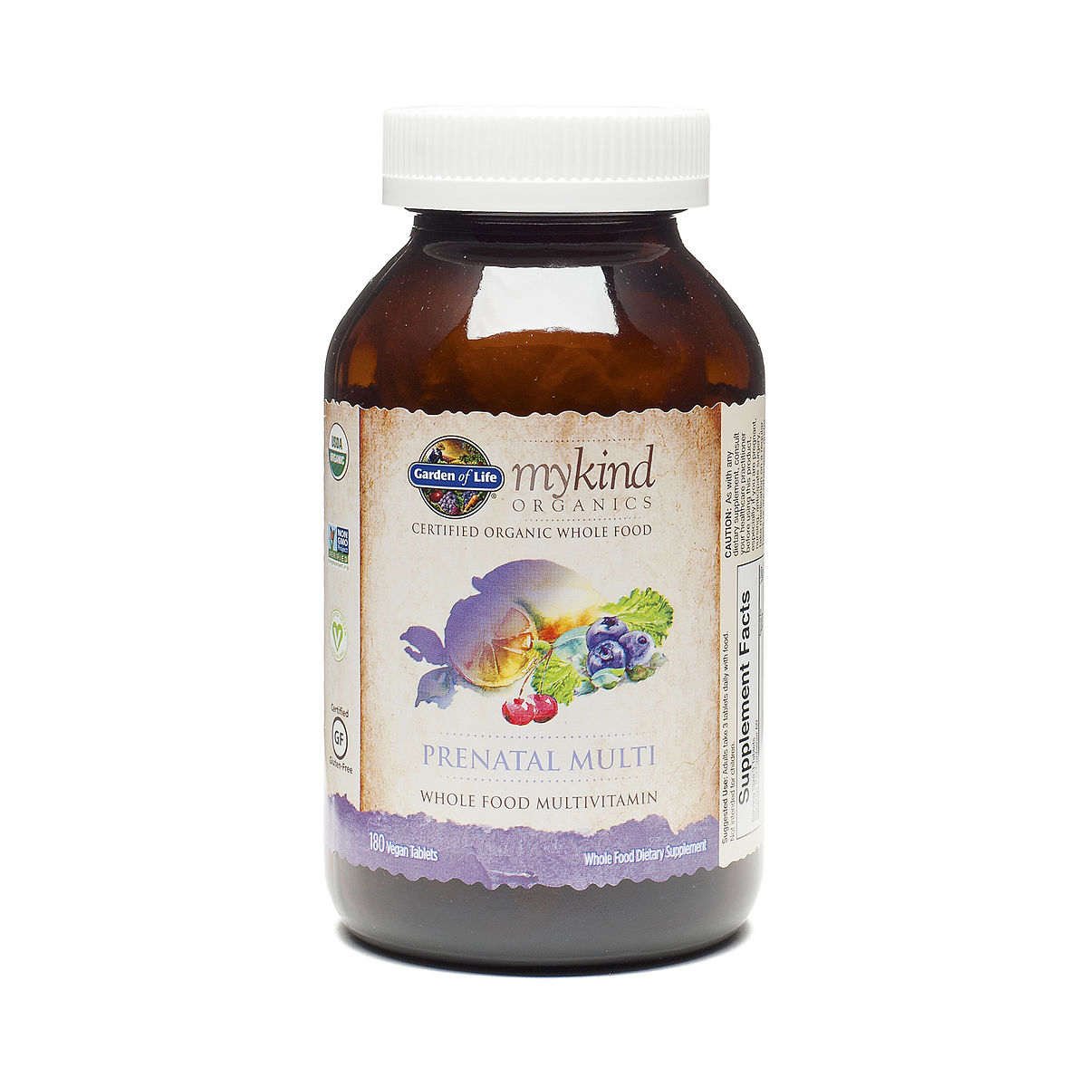 180 Ct Mykind Organics Prenatal Multi Vitamin Thrive Market