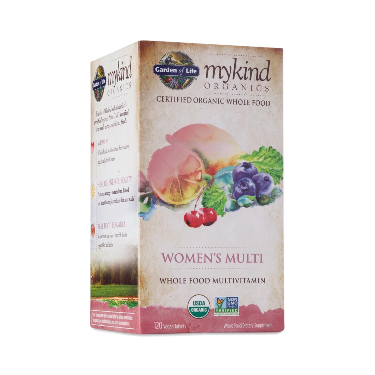 120 Ct Mykind Organics Women S Multivitamin Thrive Market