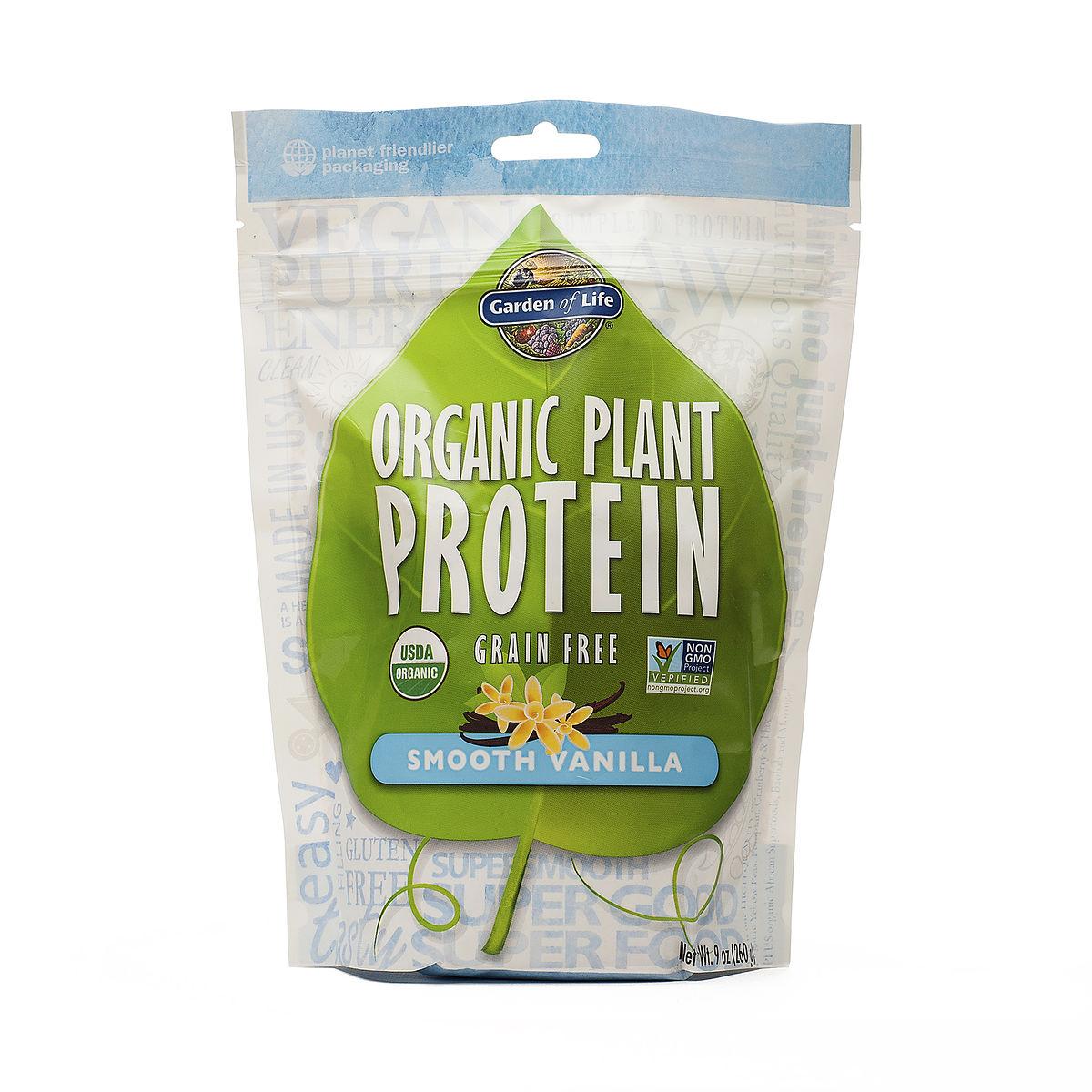 280 G Vanilla Organic Plant Protein Powder Thrive Market