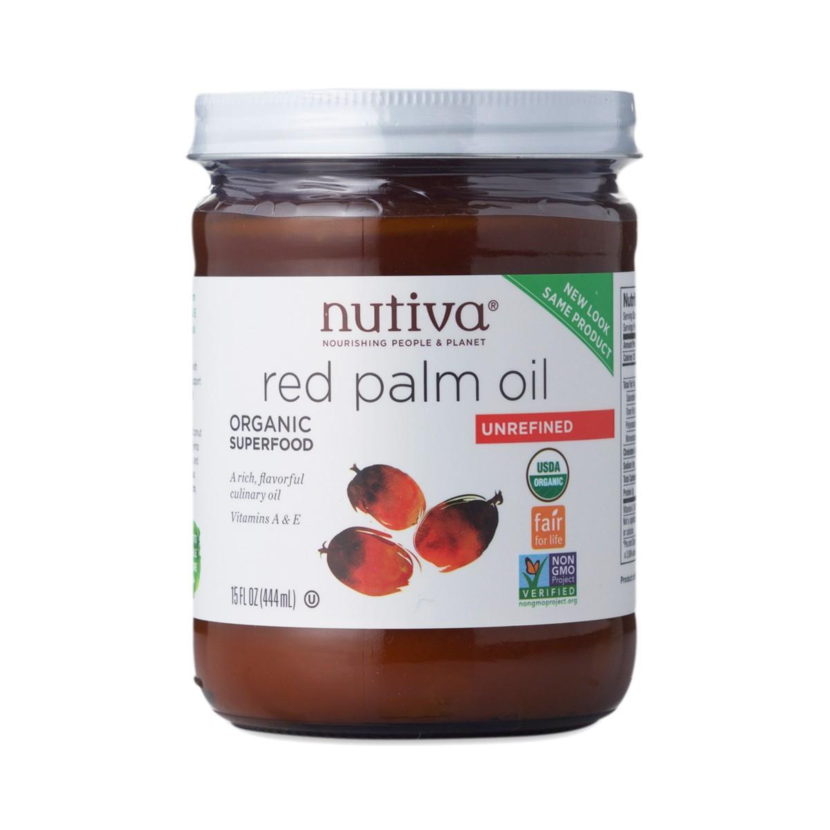 Unrefined red palm oil