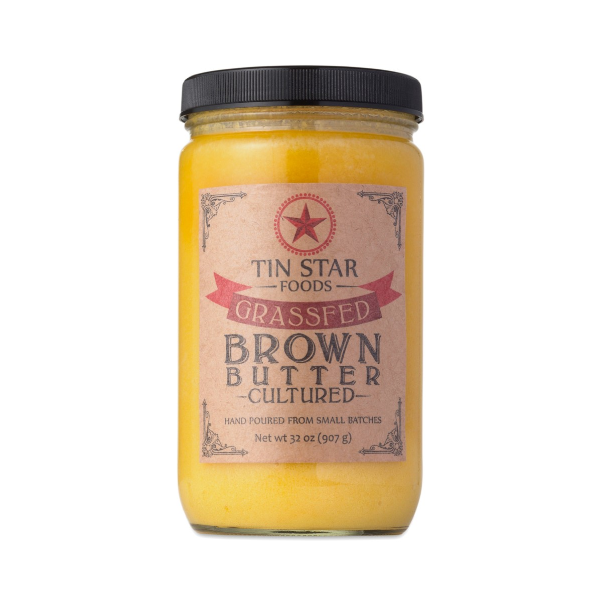 Cultured Brown Butter, Grass-Fed by Tin Star Foods - Thrive Market