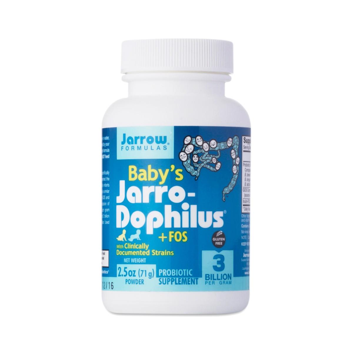 Baby S Jarro Dophilus Fos By Jarrow Formulas Thrive Market