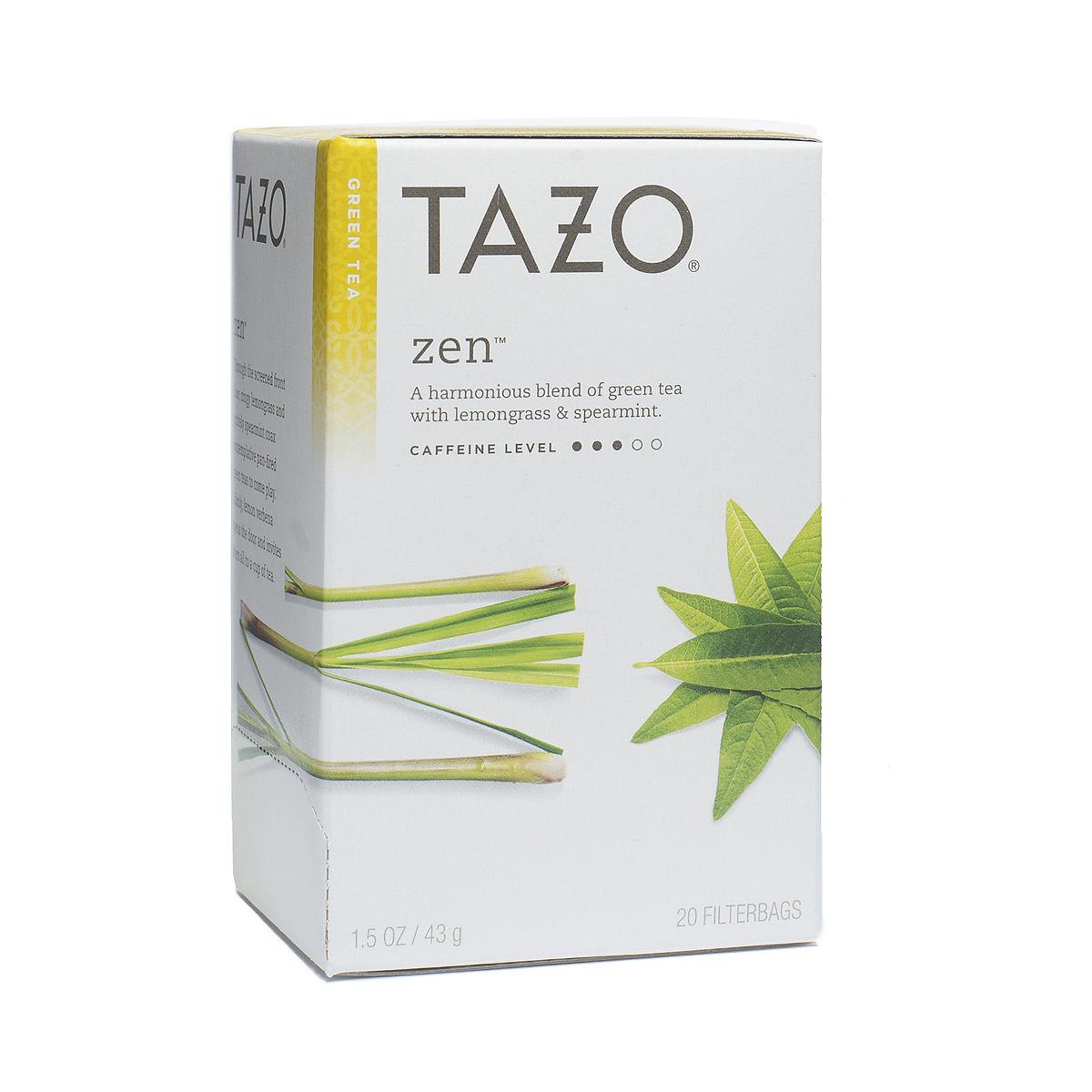 Tazo green teas