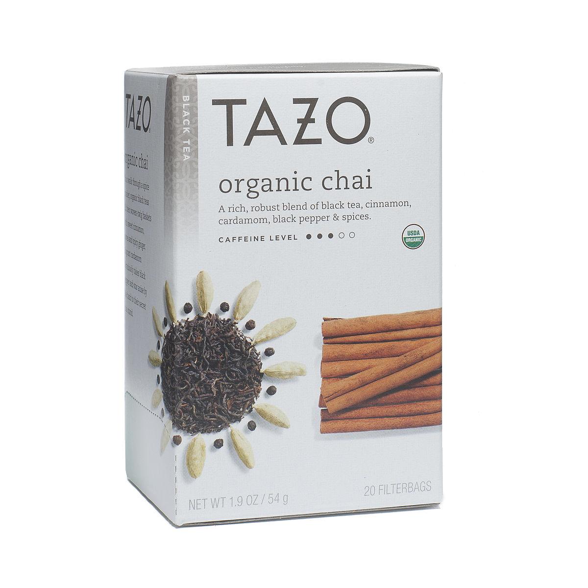 Tazo chai tea ingredients