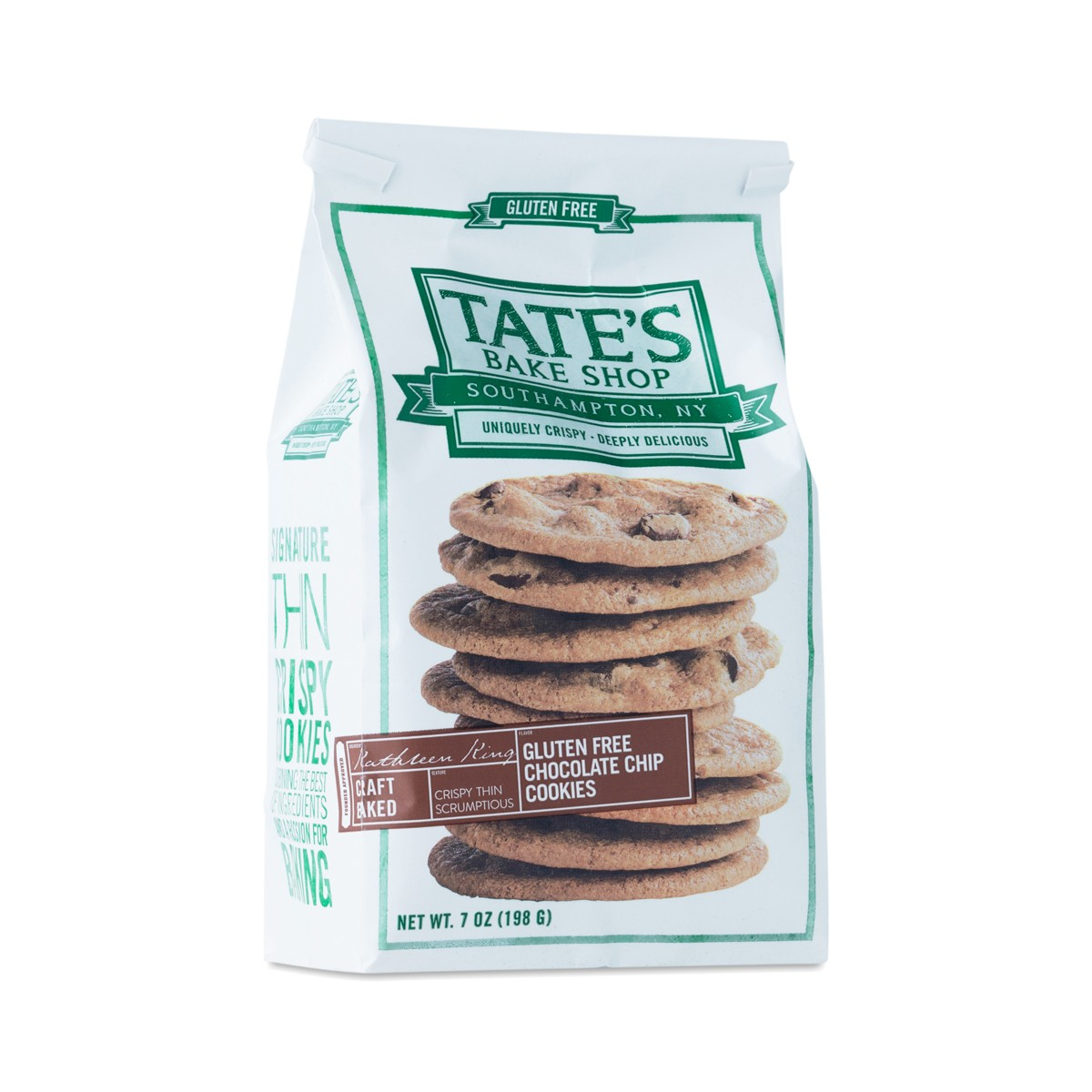 Tates Bake Shop Gluten-Free Chocolate Chip Cookies ...