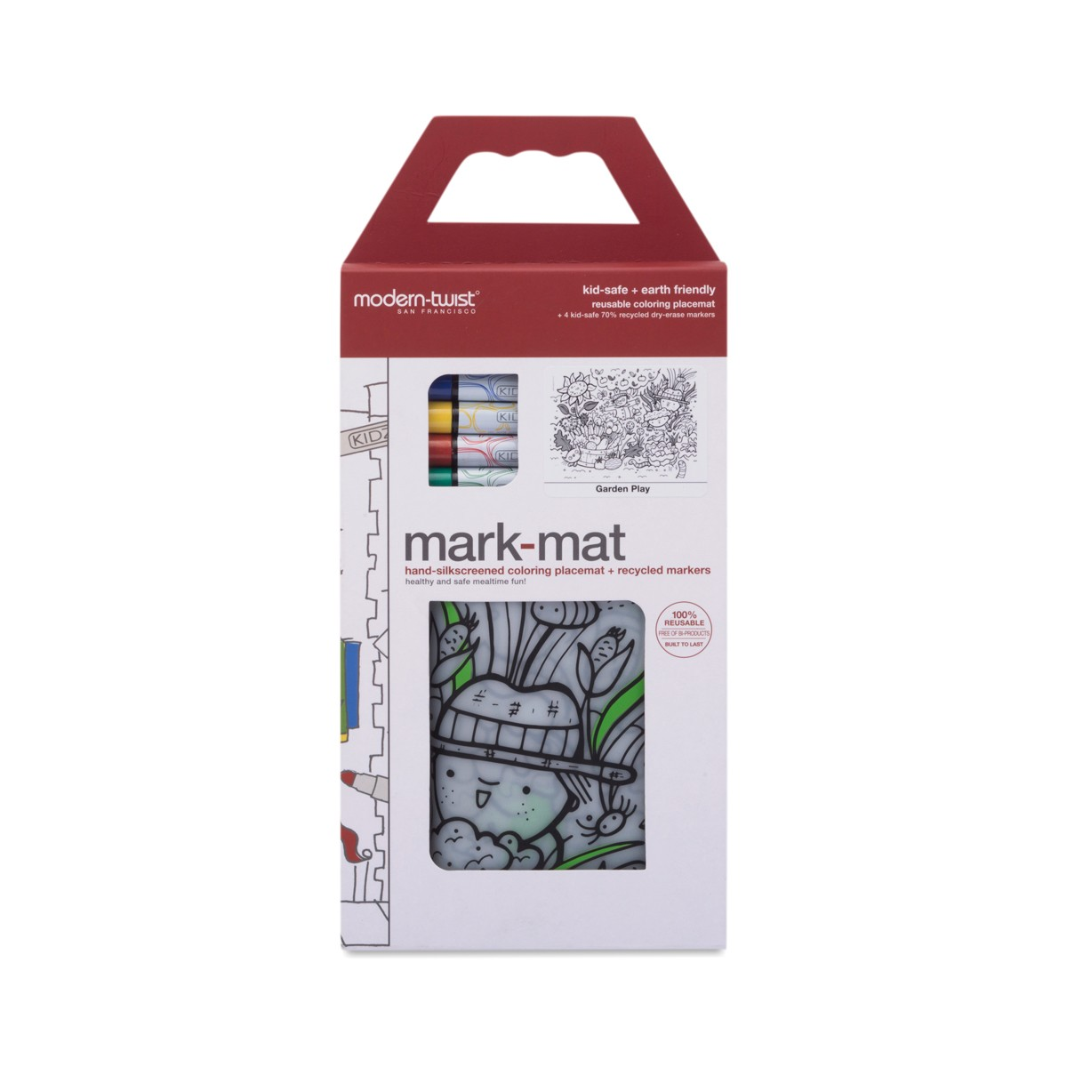 Garden Play Mark Mat 4 Markers By Modern Twist Thrive